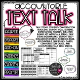 Accountable Talk and Talk Moves for Text Discussions