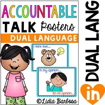 Accountable Talk Posters- { Dual Language }