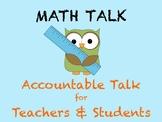 Accountable Talk for Math