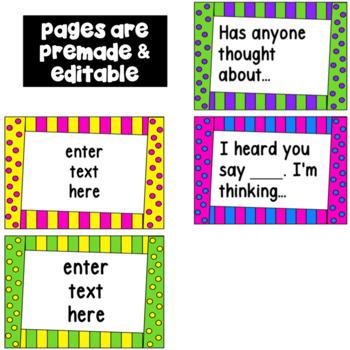 Accountable Talk - Editable