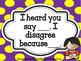 Accountable Talk (purple/yellow)