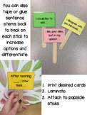 Accountable Talks Sentence Stems