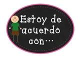 Accountable talk Spanish