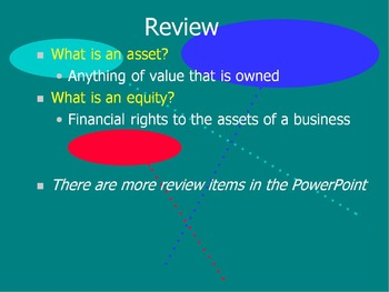 Accounting Basics PowerPoint:  Starting an Accounting System