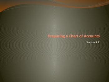 Accounting Chapter 4: Posting to a General Ledger