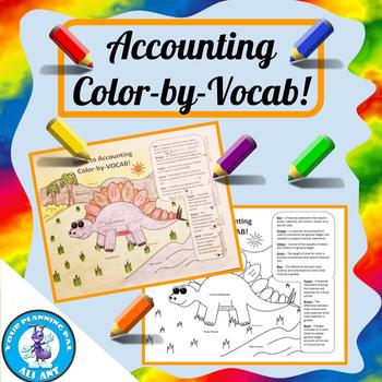 Accounting Color-by-Vocab!