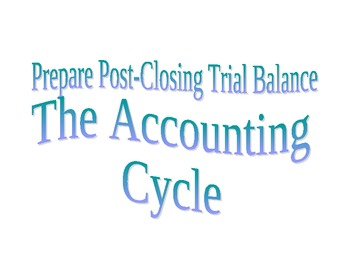 Accounting Cycle Learning Center