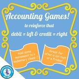 Accounting Debit & Credit Games
