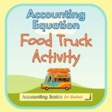 Accounting Equation Food Truck Activity (incl. Balance Sheet)