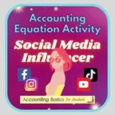 Accounting Equation Social Media Influencer Activity (incl