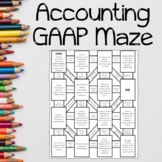 Accounting Generally Accepted Accounting Principles (GAAP) Maze