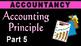 Accounting Principles | Accrual Basis | Cash Basis | Accountancy