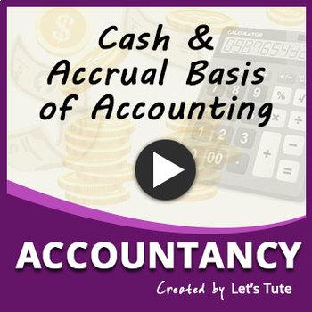 Accounts | Accounting Principles | Accrual Basis | Cash Basis