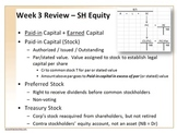 Accounting Principles Class (Shareholders Equity Concepts)
