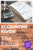 Accounting Review: The Basics