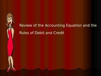 Accounting- Review of Accounting Equation & Rules of Debit