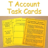 Accounting T Account Task Cards