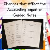 Accounting Transactions Guided Notes Chapter 1