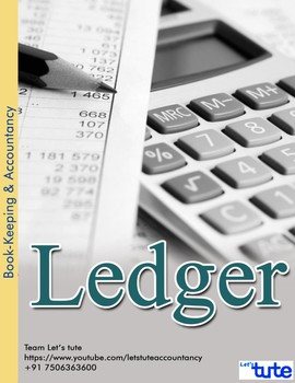Checking Accountancy   Ledger   Assessments and Worksheets