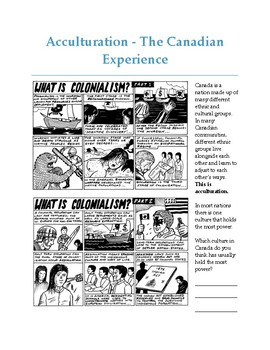 Acculturation (Accommodation, Assimilation and Annihilation)