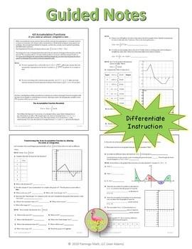 Calculus: Accumulation Functions