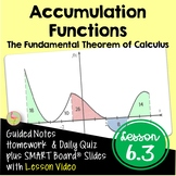 Calculus Accumulation Functions
