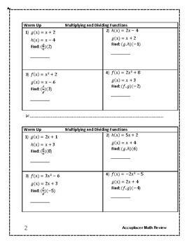 Accuplacer Next Generation Math Prep: Multiplying and ...
