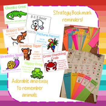 Accuracy Animals Posters - Word Decoding Strategies