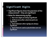 Accuracy Precision  and Intro to Significant Figures (Scie
