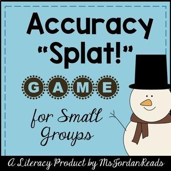 Accuracy SPLAT! -- Winter Decoding & Fluency Game