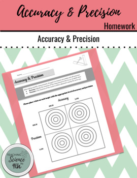 Accuracy and Precision Homework