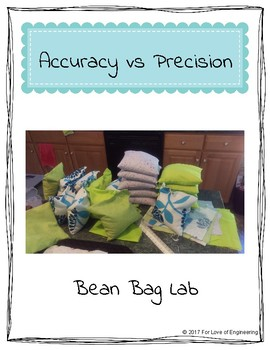 Accuracy vs Precision Bean Bag Lab - With Rubric