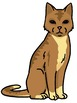 Accurate Animals Around the House - Clip Art