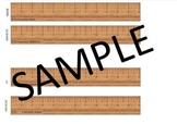 "Accurate & Printable 12"" Rulers!"