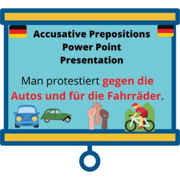 Accusative Prepositions Power Point Presentation