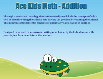 Ace Kids Math - Addition Learn Visually