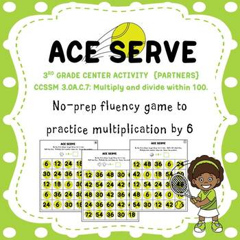 Ace Serve: A Multiplication Fact Game for Fluency with 6s