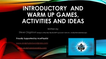 AcePE Warm up Games Powerpoint