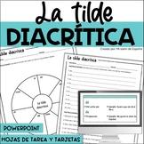 Tilde diacritica, Acentuación, Acentos monosílabos - Dista