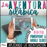 Acentuación | Actividad digital de aplicación y búsqueda d