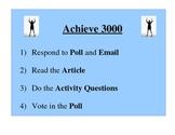 Achieve 3000 (5 steps)