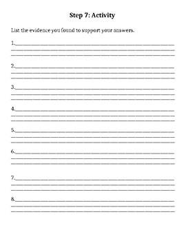 Achieve 3000 CATCH Worksheet