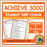 Achieve 3000 Checklist and Progress Log