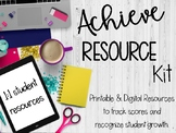 Achieve 3000 Resource Kit: Motivation and Data Tracking; 1