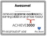 Achieve 3000 Reward Coupon