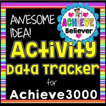 Achieve3000 Activity Data Tracker