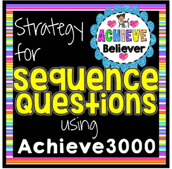 Achieve3000 Activity Strategy: Sequence of Events