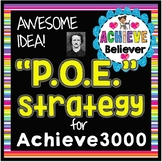 Achieve3000 Process of Elimination Card