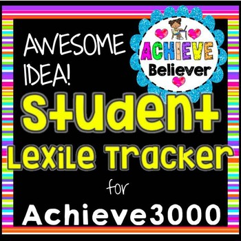 Achieve3000 Student Lexile Tracker