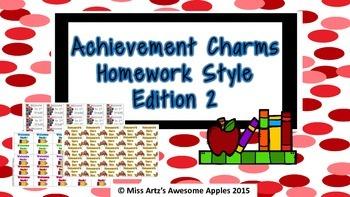 Brag Tags - Homework Edition